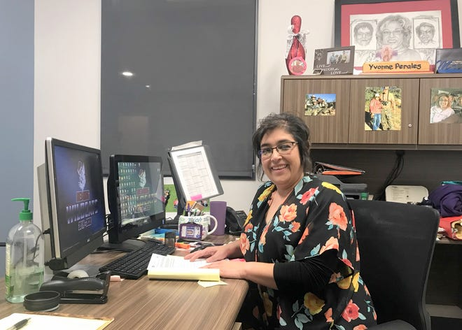 Junior Class Counselor Yvonne Jasso-Perales and a team of three other counselors are assisting students at Deming High School and Mimbres Valley High School with scholarship applications. Applications must be completed and turned in by March 4, 2020.