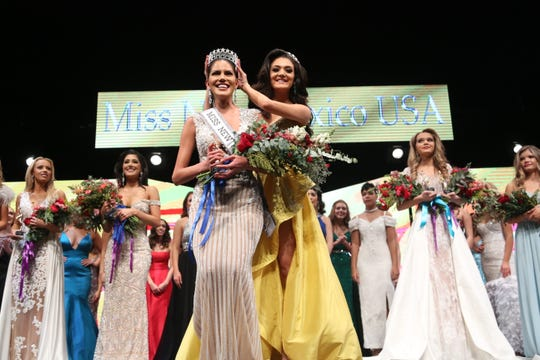 Miss South Valley Cecilia Rodriguez was crowned Miss New Mexico USA 2020 by former Miss New Mexico USA, Alejandra Gonzalez, on Sunday, Jan. 26, 2020, in Las Cruces.