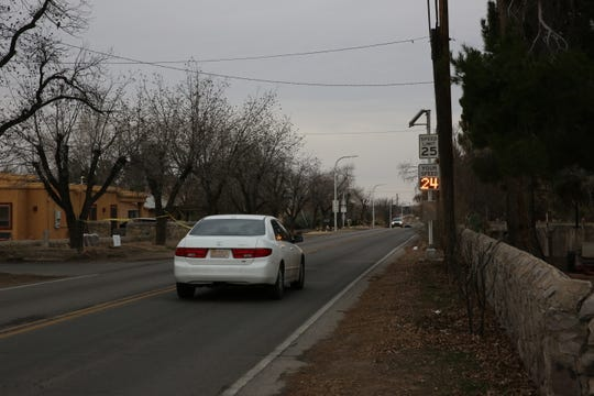 Neighbors were successful in petitioning the city to install speed counters down West Boutz Road in response to speeding drivers. They say the increased number of cars, paired with the lack of a sidewalk down Boutz, increases the risk of a speeding driver hitting someone.