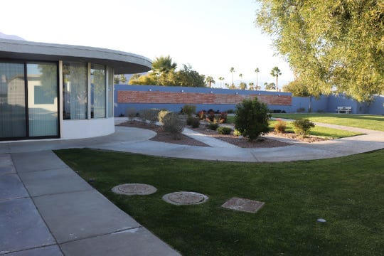 The newly updated center includes a peaceful and secured garden area.