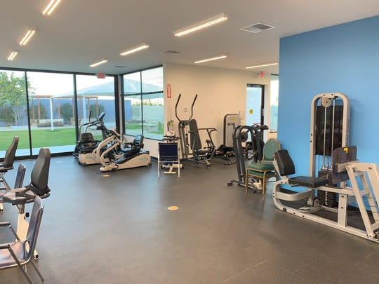 The updated Neuro Vitalicy Center includes a newly renovated gym.