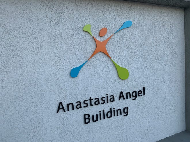 The Anastasia Angel Building was named for a former board member; members of her family were in attendance at the building's dedication on Jan. 29, 2020.