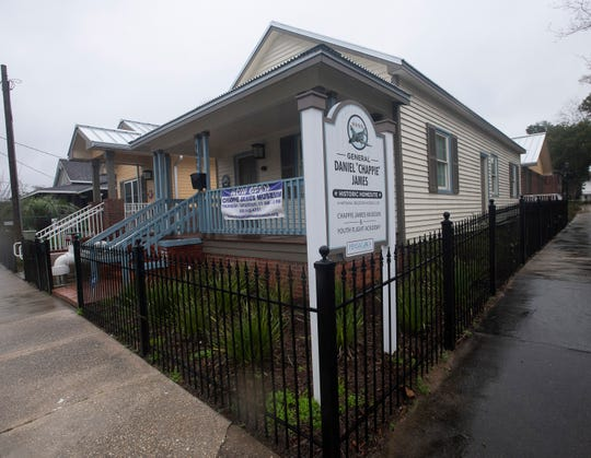 """The Chappie James Museum in downtown Pensacola houses a collection of memorabilia once owned by the Gen. Daniel """"Chappie"""" James, the country's first African-American four-star general."""
