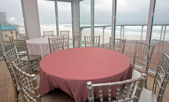 Pier Suite, a new event space at Casino Beach, is now open on the third floor of the Pensacola Beach Gulf Pier.