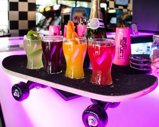 Level 1 Arcade Bar in downtown Gilbert offers retro games and custom cocktails.