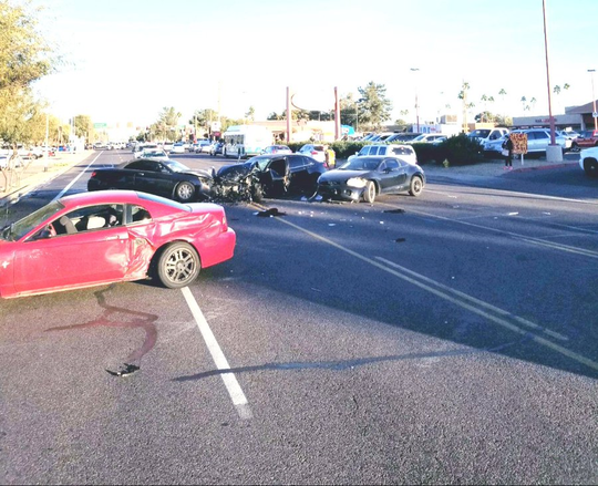 One person died and another was critically injured in a four-vehicle crash near 48th Street and Southern Avenue on Feb. 5, 2020.