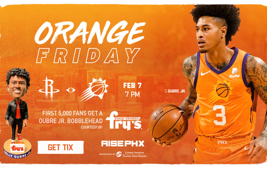 You can get a Kelly Oubre Jr. bobblehead on Friday.