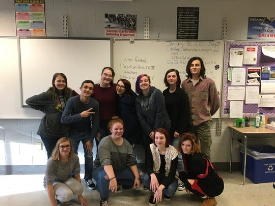 "Dallastown Performing Arts Club presents ""Antigone Now"" on Feb. 13."
