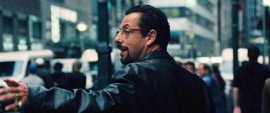 "Adam Sandler stars in ""Uncut Gems,"" playing at Hanover Movies 16."