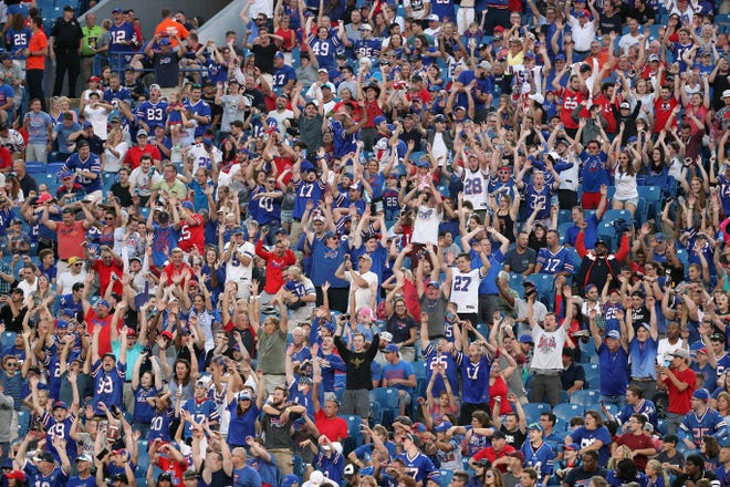 Ticket prices keep rising, but Bills fans keep buying them.