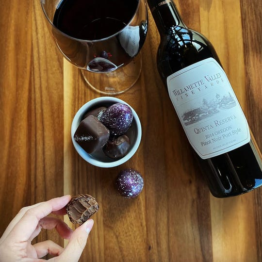 The Willamette Valley Vineyard's Pinot andChocolate Celebration will take place Saturday and Sunday, Feb. 15-16.