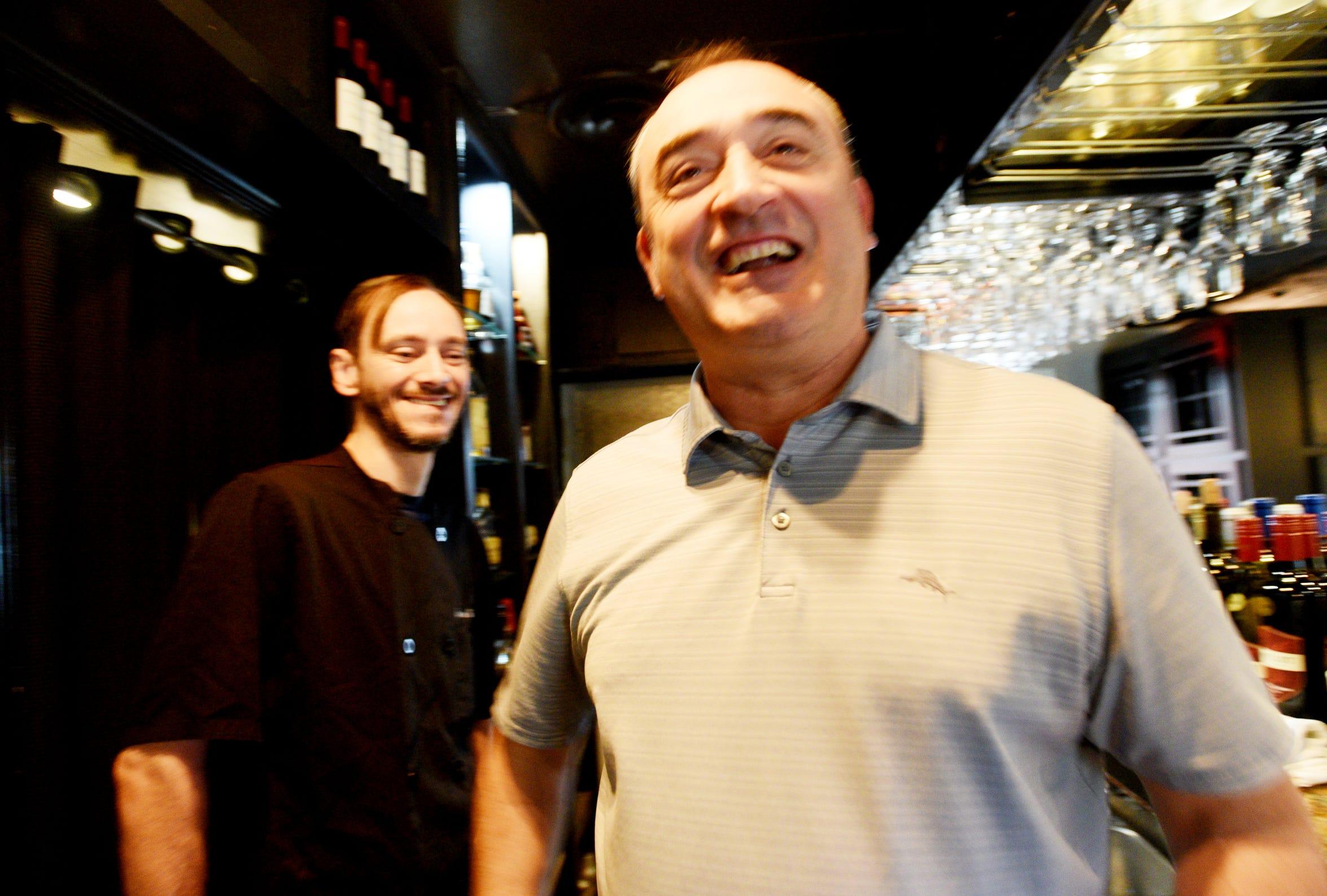 Bella Fresca owner Zoran Tomic, right, and Chef Jay Kohler.