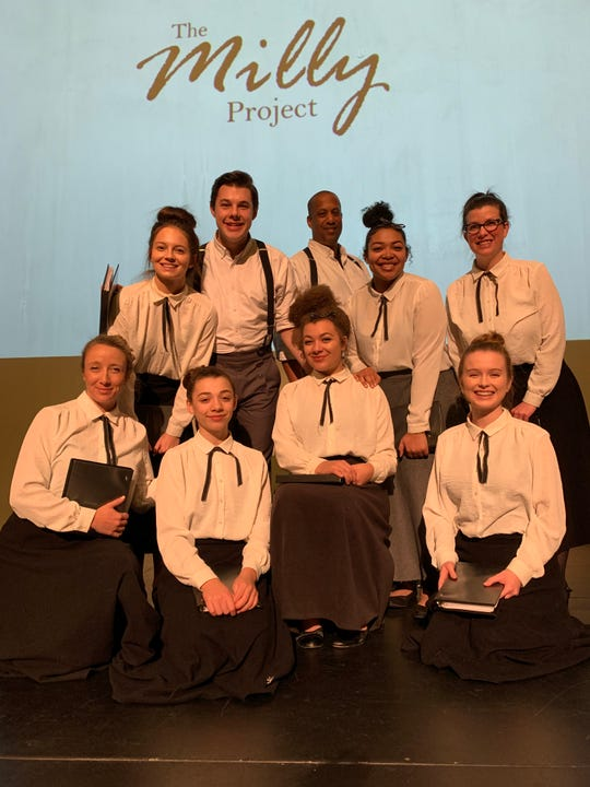 The Milly Project will be performed at 7 p.m. Feb. 7 at the Gillioz Theatre, 325 Park Central East.