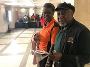 (L-R): FAMU alumni Sonya and John Seay at Thursday's FAMU Day at the Capitol.