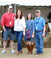 2nd annual Field Day Music Festival in 2018 with Kyle and Stacy Hartmann and Katie and Jason Pernell.