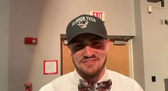 St. Lucie West Centennial DL David Green signed with Florida Tech.