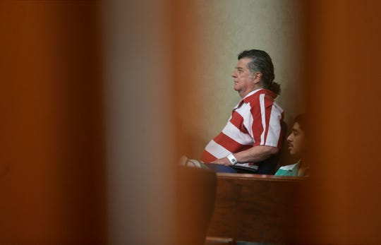 """William """"Billy"""" Abraham appeared briefly in the 409th District court for a probation status hearing Thursday. His hearing was cancelled until he can secure an attorney."""