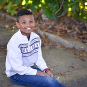 "Newark's Charlie Kahler, 10,  stars as Young Simba in the touring version of the Broadway musical ""The Lion King""."