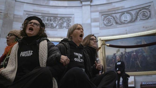 Live politics updates: Senators call for '1/6' commission report; Graham says McConnell speech will haunt GOP