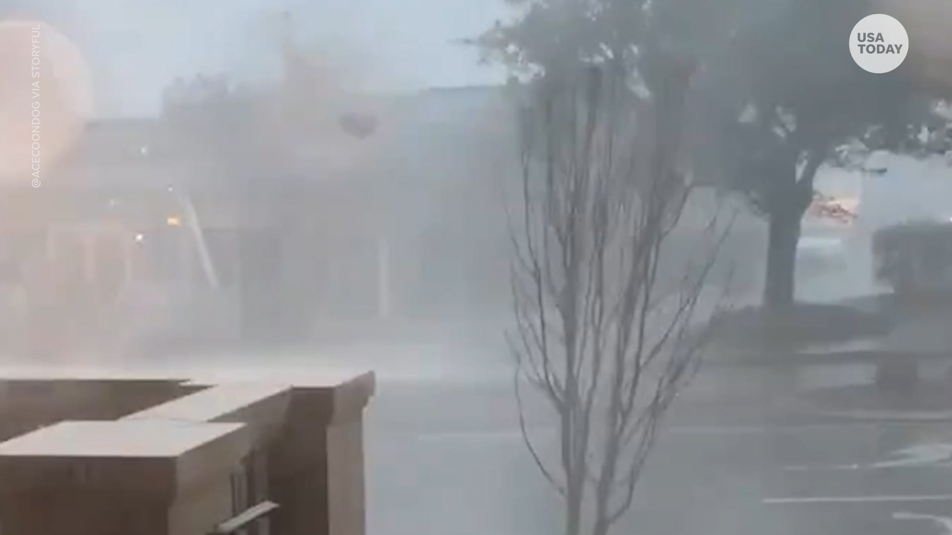 Heavy rain storms, strong winds, floods and tornado watches and warnings hit the Southeast