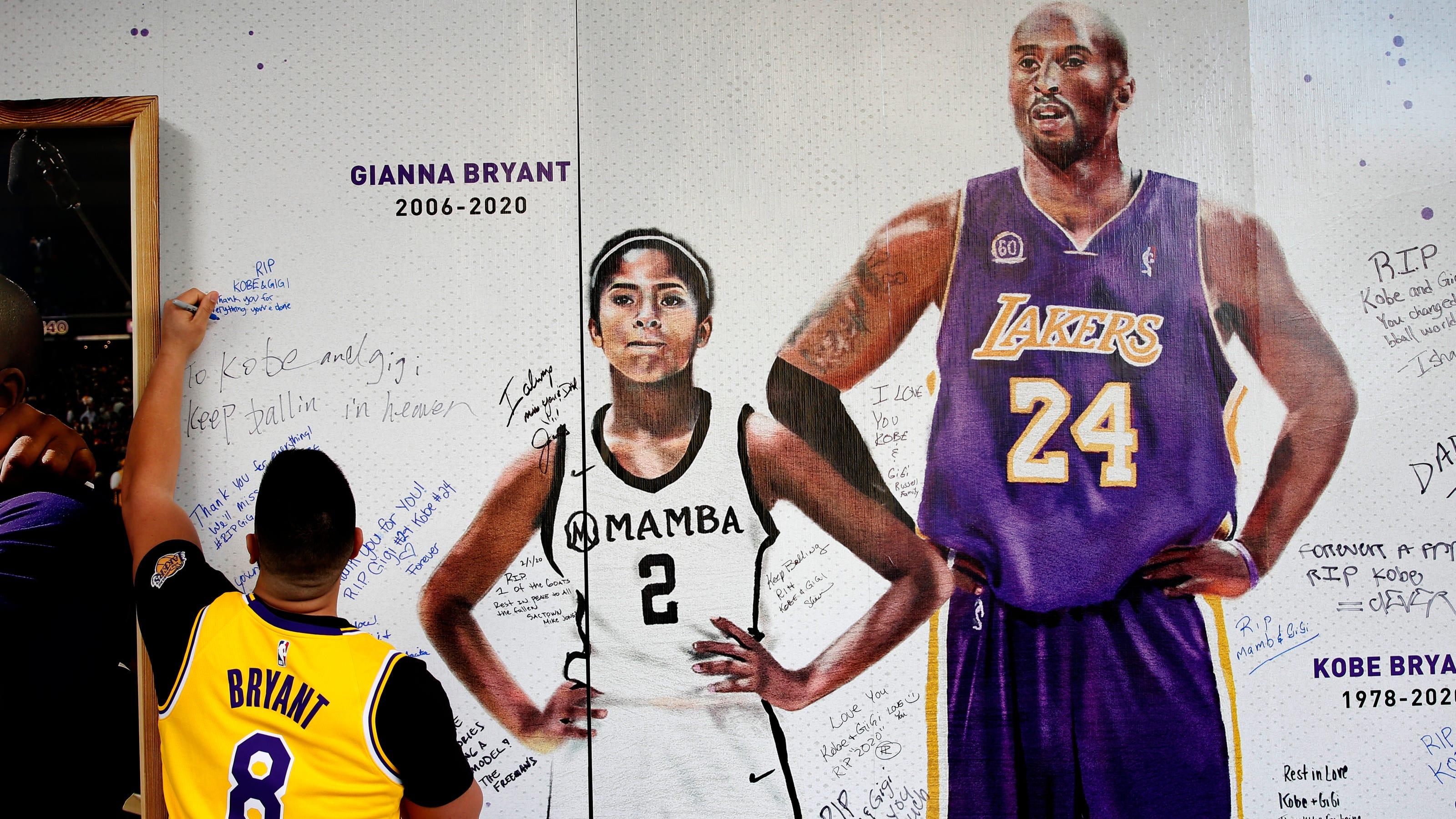 Gianna Bryant's school retires her No. 2 basketball jersey