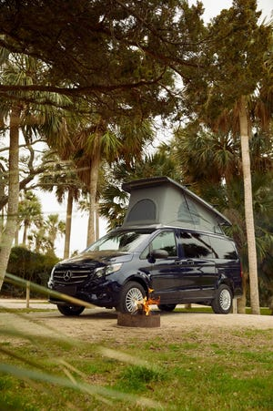 The Mercedes-Benz Weekender is the luxury automotive brand's first-ever pop-up camper van for the U.S. market.
