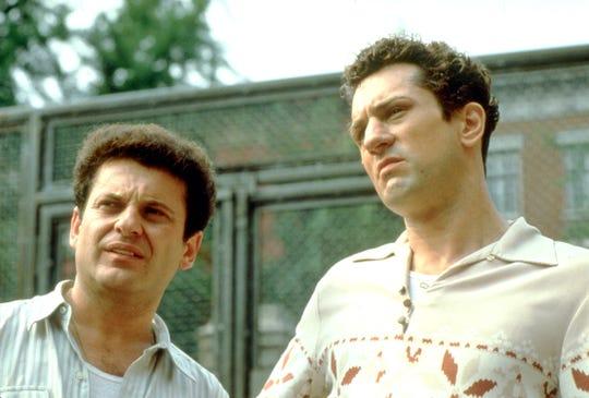 """Joe Pesci (left), as Joey, starred alongside Robert De Niro's Jake La Motta in Martin Scorsese's 1980 masterpiece """"Raging Bull."""""""