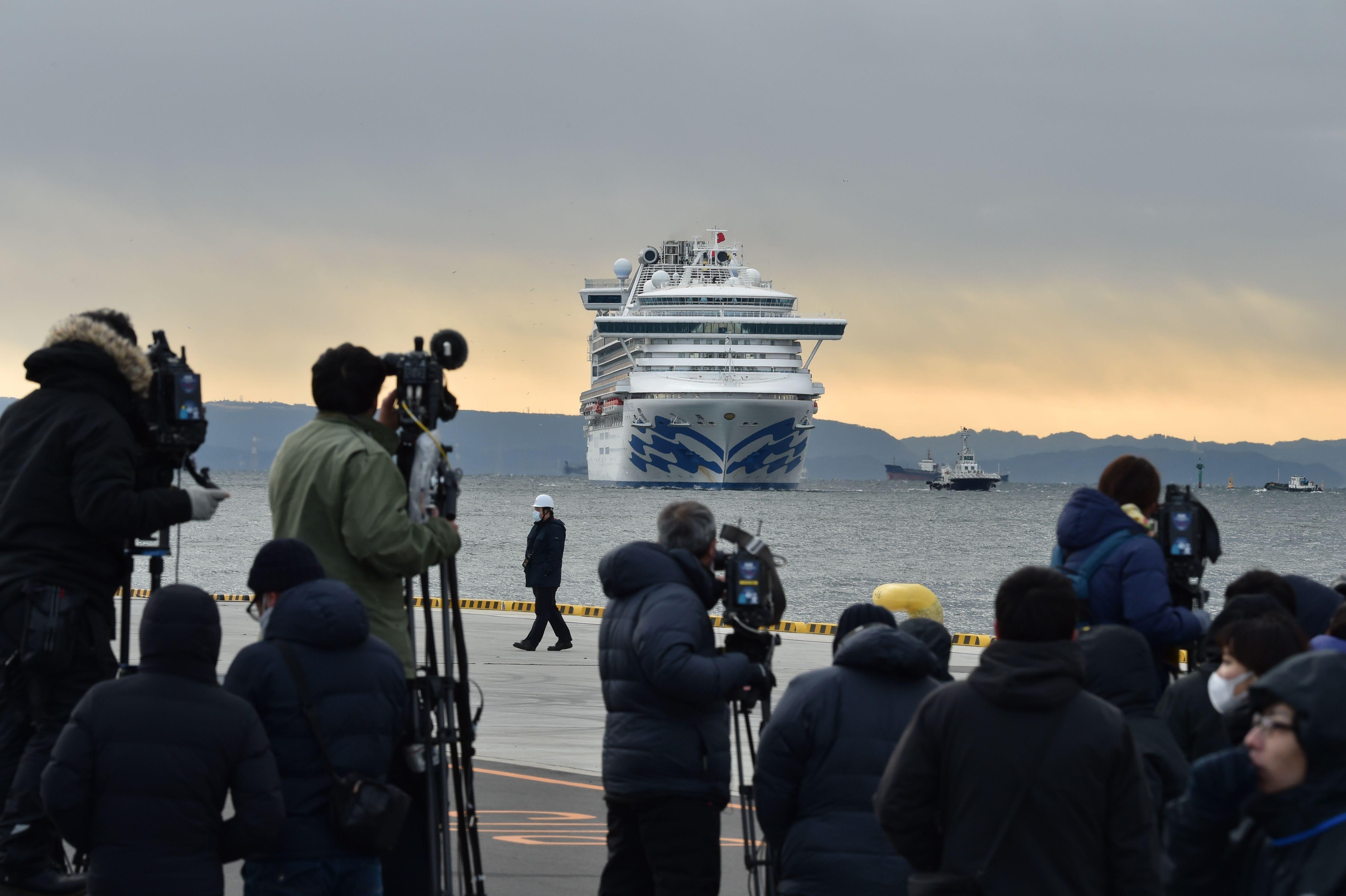 Princess Cruise passengers quarantined after coronavirus outbreak on board