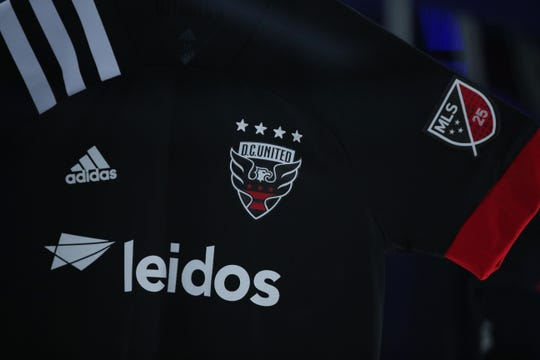 The 2020 kit for the DC United.
