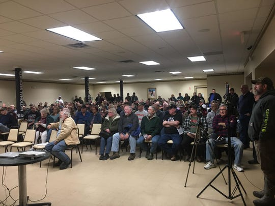 A public meeting was held in Jan. 20, 2020 in Norwich to discuss plans for Chenango County becoming a Second Amendment Sanctuary.