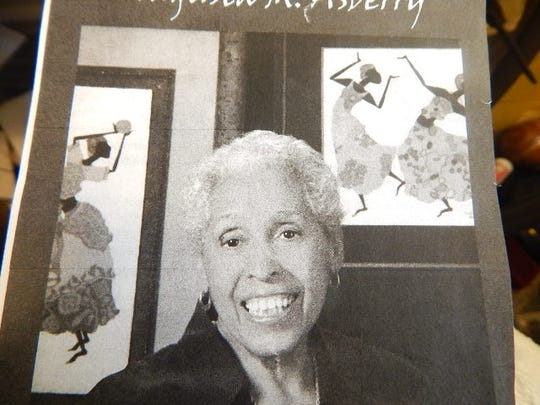 August Asberry moved to Bremerton in 1978 and left her mark on the region's art scene through painting, landscape architecture and sculpture.