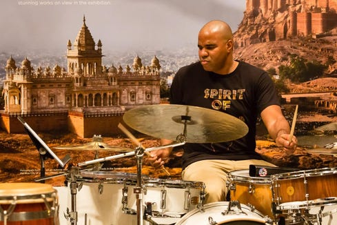 Jazz drummer D'Vonne Lewis and friends play Feb. 15 at Rolling Bay Hall on Bainbridge Island.
