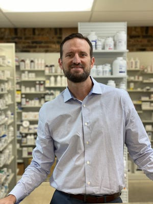 Eric Russo is a pharmacist and co-owner of Hobbs Pharmacy on Merritt Island.
