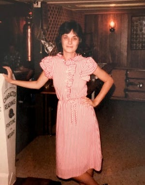 FLORIDA TODAY columnist Britt Kennerly in 1982, size 3, a few months after seeking help for bulimia.