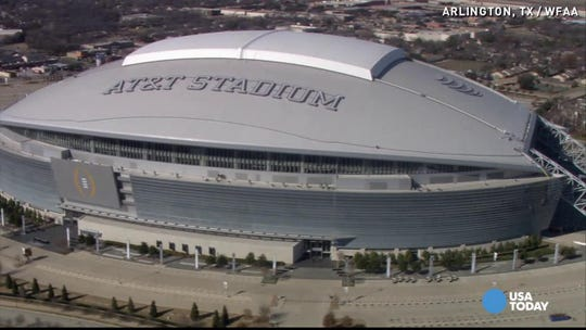 AT&T Stadium in Arlington, Texas