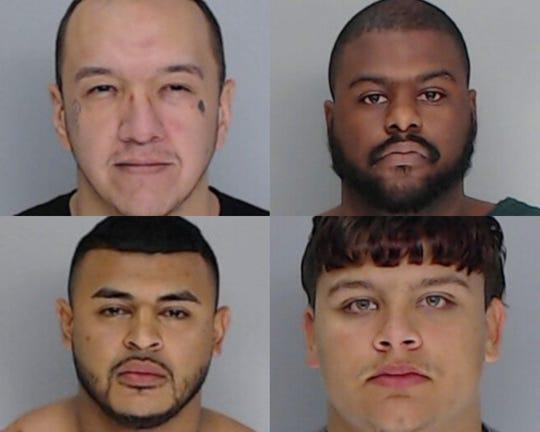 Ismael Castillo, Jordan Gosson, Robert A. Lopez Jr. and Trebor Wheeler.