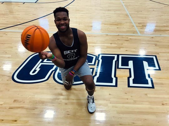 GCIT senior center Josh Randall is averaging a double-double this year and has led the Cheetahs' to a single-season wins record.