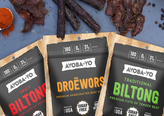 Ayoba-Yo's Biltong is the only biltong in the United States that is both keto and paleo certified.