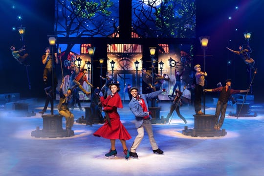 """""""Disney on Ice Presents Road Trip Adventures"""" includes a """"Mary Poppins"""" moment."""