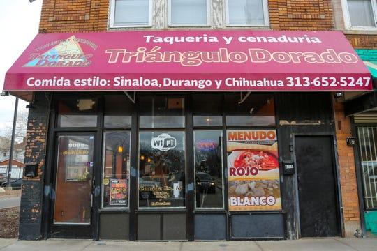 Triangulo Dorado is located in the old El Caribeño space at 8065 Vernor in Detroit's Springwells Village neighborhood.