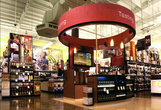 Total Wine & More is an expansive retailers of beer, wine and spirits.