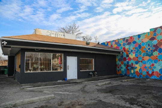 Saffron De Twah is located in an old BBQ shack on Gratiot between Warren and Van Dyke on Detroit's east side.