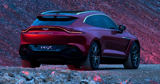 Thanks to lightweight aluminium construction, a 550 hp drivetrain and  electronic adaptive damping for every wheel, the DBX drives more like a sports car than an SUV.