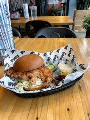 The crispy karaage fried chicken sandwich is a hit at the Ima's third location.