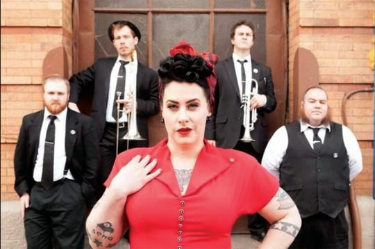 "Davina and the Vagabonds join Hot Club of Cowtown for ""The Finest Hour"" concert Feb. 14 at Door Community Auditorium."