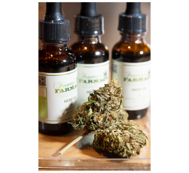 CBD products can come in many forms. Franny's Farmacy in Greenville offers hemp oil, hemp flower, salves, lotions and more.
