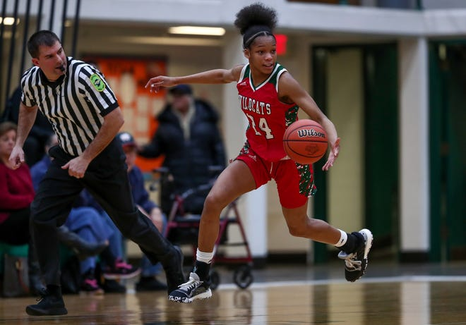 Lawrence North's Jayla Smith