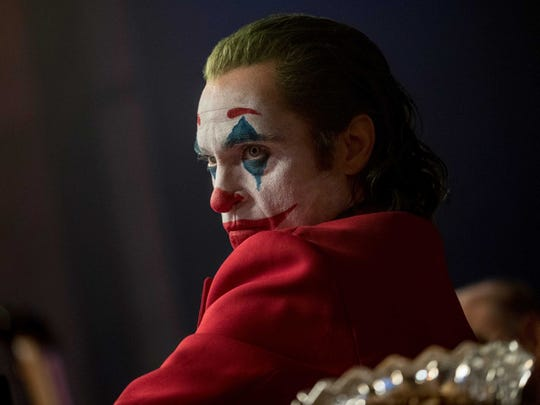 "Joaquin Phoenix portrays Arthur Fleck in ""Joker,"" a film nominated in 11 Academy Awards categories."