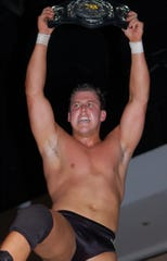"Brett DiBiase was once a professional wrestler. This image was originally published on Wikipedia with the following caption by user Sayuncle: ""Photo I took of Brett DiBiase in Ft. Myers FL on 01/15/2010. He is holding the FCW Tag Team Championship."""