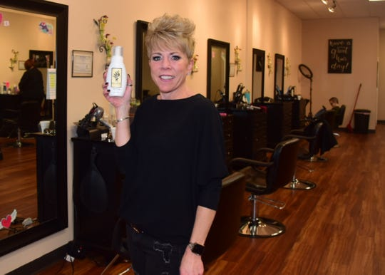 Tracy Messineo has her own line of Messi Heads hair products at Messi Heads Salon. 02/01/20